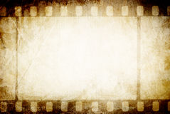 Altes filmstrip. stockfotografie
