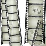 Altes filmstrip Lizenzfreies Stockbild