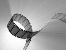 Altes filmstrip Stockbild