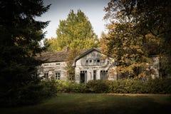 Altes finnisches Haus stockfoto