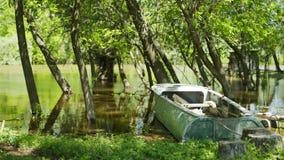 Altes Fischerboot stock video footage