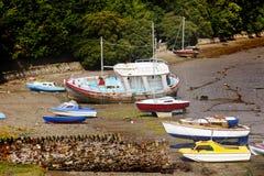 Altes Fischerboot Lizenzfreie Stockbilder