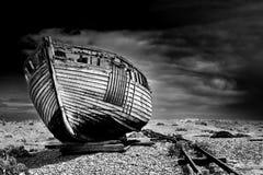 Altes Fischerboot Lizenzfreie Stockfotografie