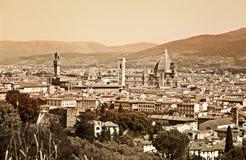 Altes Florenz Stockbild