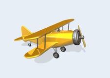 Altes Flugzeug stock abbildung