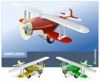 Altes Flugzeug Lizenzfreie Stockbilder