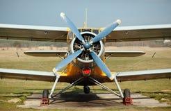 Altes Flugzeug Lizenzfreies Stockfoto