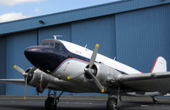 Altes Flugzeug stockfotografie