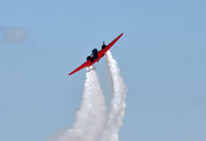 Altes Flugzeugansteigen Stockfotografie