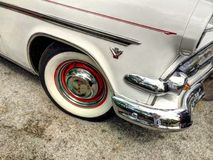 Altes Ford V8 lizenzfreies stockbild