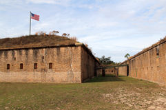 Altes Fort Barrancas Stockfotos