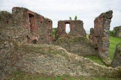 Altes Fort bleibt in Portobelo Panama stockfotos