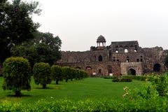 Altes Fort Delhi Lizenzfreies Stockfoto