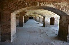 Altes Fort in den Schlüsseln Stockfotos