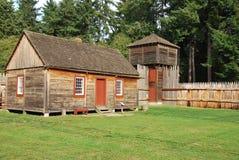 Altes Fort Nisqually Lizenzfreie Stockfotografie