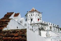 Altes Fort Phra Sumen Lizenzfreies Stockbild