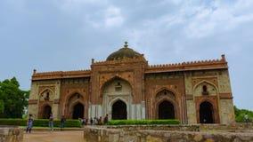 Altes Fort Timelapse Purana Qila in Delhi, Indien stock footage