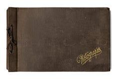 Altes Foto-Album Lizenzfreie Stockbilder