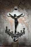 Altes Foto bearbeitet isn Santelmo Buenos Aires maschinell Lizenzfreies Stockbild
