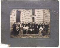 Altes Foto des Jahrhunderts XIX Stockfotografie