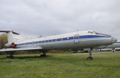 Altes Freilichtflugzeug Lizenzfreie Stockfotos