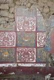 Altes Fresko in Huaca De-La Luna, Trujillo Lizenzfreies Stockbild