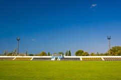 Altes Fußballstadion Lizenzfreie Stockfotos