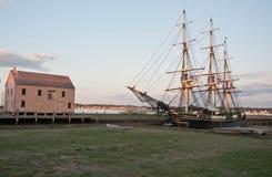 Altes galleon stockbild