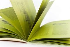 Altes geöffnetes Buch. lizenzfreie stockbilder