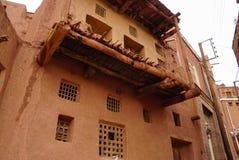 Altes Gebäude in Abyaneh, der Iran Stockfoto