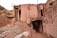 Altes Gebäude in Abyaneh, der Iran Stockbild