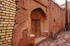 Altes Gebäude in Abyaneh, der Iran Stockbilder
