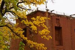 Altes Gebäude in Abyaneh, der Iran Stockfotografie