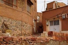 Altes Gebäude in Abyaneh, der Iran Lizenzfreies Stockfoto