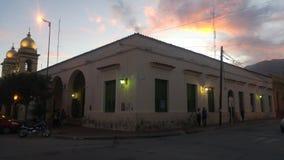 Altes Gebäude Cafayate Salta Argentinien lizenzfreie stockfotos