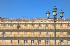 Altes Gebäude der Fassade Lizenzfreie Stockfotografie