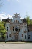 Altes Gebäude des Badhauses Lizenzfreie Stockfotos