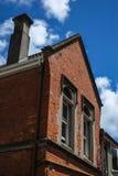 Altes Gebäude des roten Backsteins Lizenzfreie Stockbilder