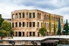 Altes Gebäude in Istanbul Stockbild