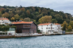 Altes Gebäude in Istanbul Stockfotografie