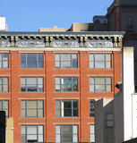 Städtische Dachböden Stockbild