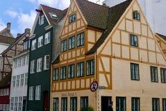 Altes Gebäude in Kopenhagen Stockbild
