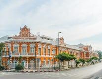 Altes Gebäude, Thailand lizenzfreies stockfoto