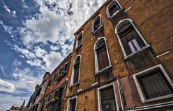 Altes Gebäude in Venedig Lizenzfreies Stockfoto