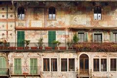Altes Gebäude in Verona Lizenzfreies Stockbild
