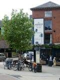 Altes Gebr?u-Haus in den Wegen, Norwich, Norfolk, Gro?britannien stockbilder