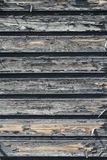 Altes gebrochenes gemaltes Holz Stockbild