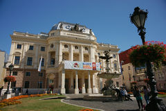 Slowakisches Nationaltheater Stockbilder