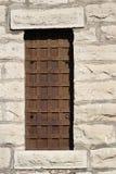 Altes Gefängnisfenster Stockbilder