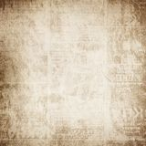 Altes gefaltetes Papier Lizenzfreies Stockbild
